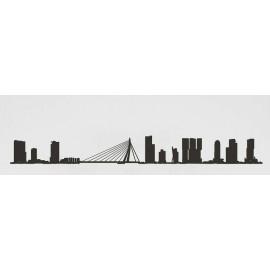 The Line Skyline Rotterdam Zwart XL 125 cm