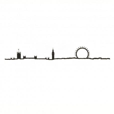 The Line Skyline Londen Zwart 50 cm