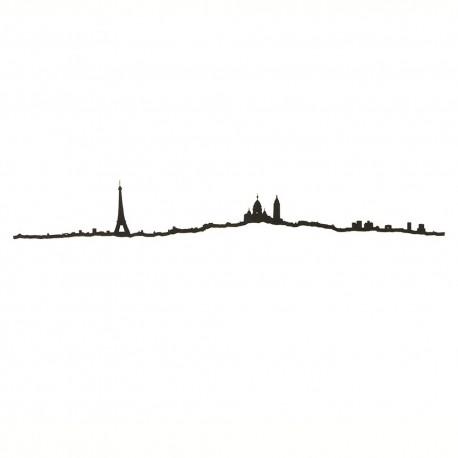 The Line Skyline Parijs Zwart 50 cm