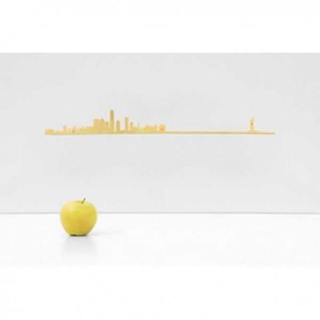 The Line Skyline New York Goud 50 cm