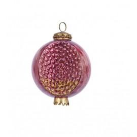 Kerstbal Granaatappel Roze Ø 10 CM