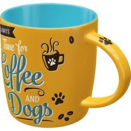 Nostalgic Art Mok Coffee and Dogs