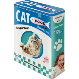 Retro Blik Crusnhy Bites Cat Food XL