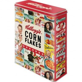 Retro Blik  XL Corn Flakes Collage