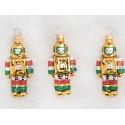 Set van 3 Robot Kerstballen