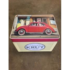 Krut Kratkussen Volkswagen Kever Rood