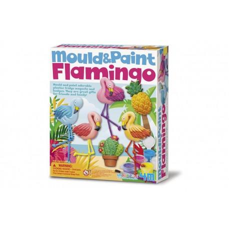 4M Bouwpakket Flamingo Gieten en Verven