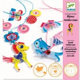 Djeco Knutselpakket Magisch Plastic Poes en Pony