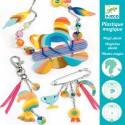 Djeco Knutselpakket Magisch Plastic Regenboogpaard