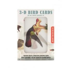 Speelkaarten 3D Vogels