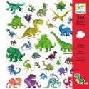 Djeco Knutselpakket Stickers Dinosaurussen