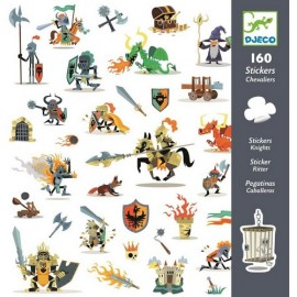 Djeco Knutselpakket Stickers Ridders