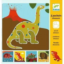 Djeco Knutselpakket Sjablonen Dinosaurier
