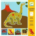 Djeco Knutselpakket Sjablonen Dinosauriër