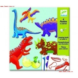 Djeco Knutselpakket Bewegende Dinosauriërs