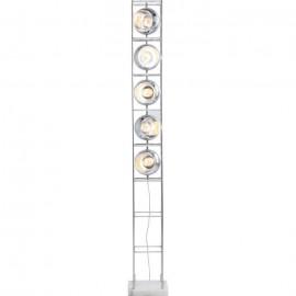 Vloerlamp Toren Chroom 5 Lichts