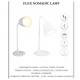 Mobile LED Tafellamp Flex