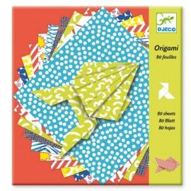 Djeco Knutselpakket Origami 80 Bladen Comics
