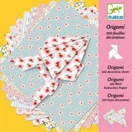Djeco Knutselpakket Origami 80 Bladen Romantiek
