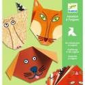 Djeco Knutselpakket De Eerste Beginselen van Origami Dieren