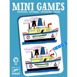 Djeco Mini Games Verschillen
