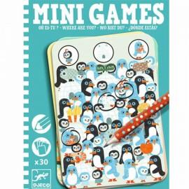 Djeco Mini Games Waar ben je?