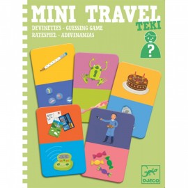 Djeco Mini Travel Raadspel