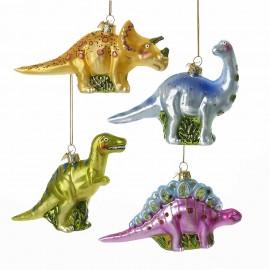 Kerstbal Dinosaurus Gekleurd