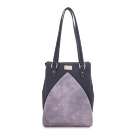 Hi Di Hi Schoudertas-Shopper  Heather Donker Blauw-Lila