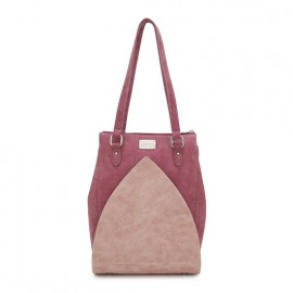 Hi Di Hi Schoudertas-Shopper Heather Donker Rood-Roze
