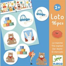 Djeco Lotto Op de Markt