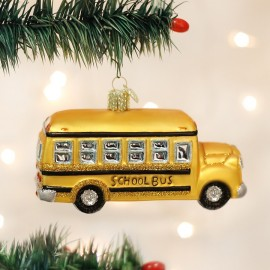Kerstbal Schoolbus