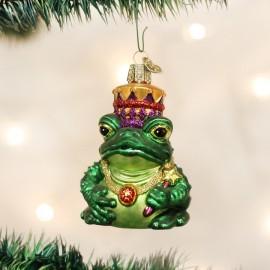 Kerstbal Koning Kikker