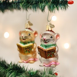 Kerstbal Zingende Muizen