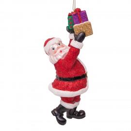 Kerstbal Kerstman met Kadootjes