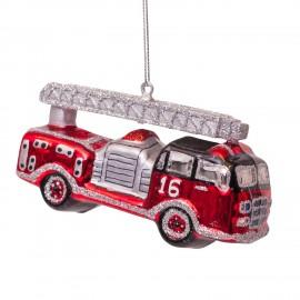 Kerstbal Brandweerauto