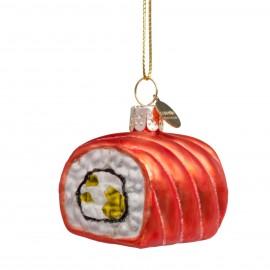 Kerstbal Sushi Zalm
