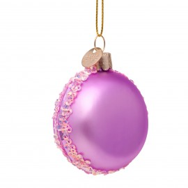 Kerstbal Macaron Lila