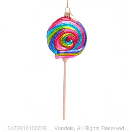 Kerstbal Lolly