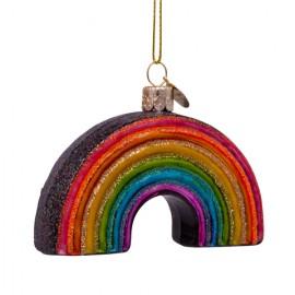 Kerstbal Multicolor Regenboog