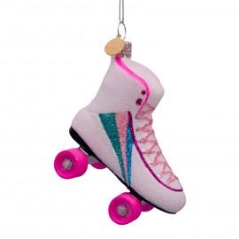 Kerstbal Rollerskate
