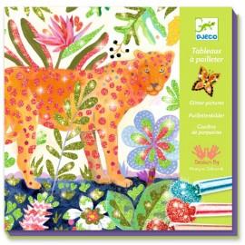 Djeco Glitter Schilderijen Tropico