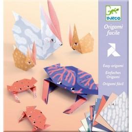 Djeco Knutselpakket Eenvoudige Origami Familie