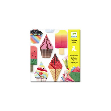 Djeco Knutselpakket Eenvoudige Origami Lekkernijen