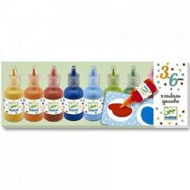 Djeco Waterverfset 8 kleuren