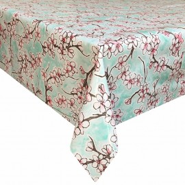 Tafelzeil Kersenbloesem Mint Groen