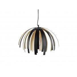 Leitmotiv Hanglamp Willow Zwart Goud