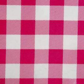 Kitsch Kitchen Tafelzeil Ruit Roze