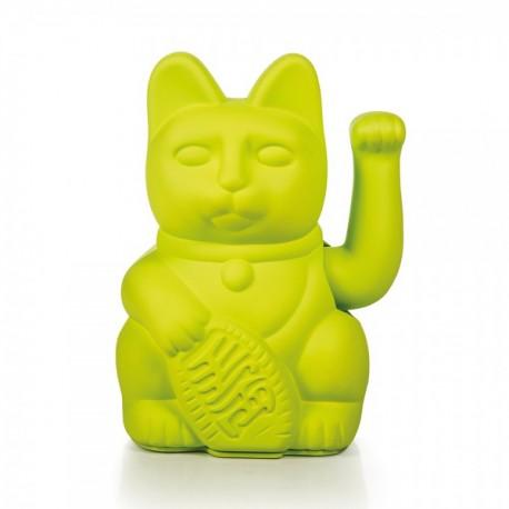 Lucky Cat- Zwaaiende Kat Neon Groen