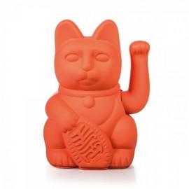 Lucky Cat- Zwaaiende Kat Neon Roze